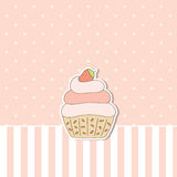 Cupcake. Stock Photography