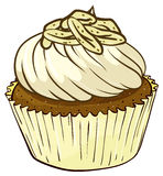 Cupcake. Illustration of an isolated cupcake Royalty Free Stock Photography