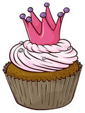 Cupcake. Illustration of an isolated cupcake Royalty Free Stock Photo