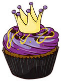 Cupcake. Illustration of an isolated cupcake Royalty Free Stock Image