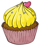Cupcake. Illustration of an isolated cupcake Royalty Free Stock Images