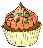 A cupcake Stock Image