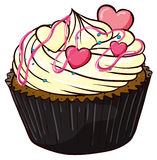 Cupcake. Illustration of an isolated cupcake Stock Photo