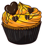 Cupcake. Illustration of an isolated cupcake Stock Photos