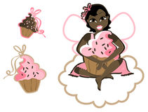 Cupcake vector illustratie