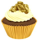 Cupcake. Illustration of an isolated cupcake Stock Photography