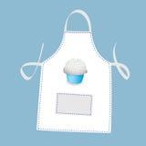 Cupcake apron Royalty Free Stock Image