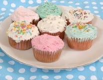 Cupcake assortment. Assorted cupcakes Royalty Free Stock Photos