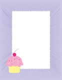 Cupcake background Royalty Free Stock Photography
