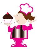 Cupcake Baker Stock Image