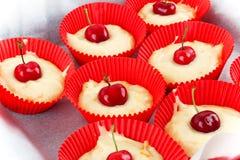 Cupcake Baking Royalty Free Stock Photography