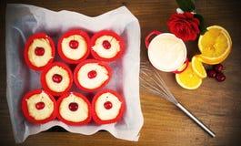 Cupcake Baking Stock Image