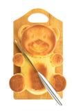Cupcake bear form Stock Photography