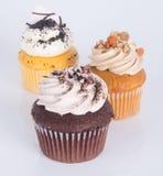 cupcake bolo do copo no fundo imagem de stock royalty free