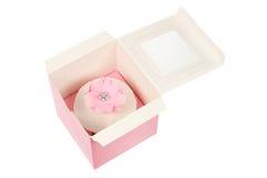Cupcake in Box Stock Image