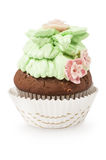 Cupcake with buttercream Royalty Free Stock Photo