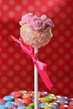 Cupcake cake pop Royalty Free Stock Photos