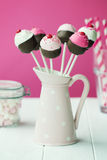 Cupcake Cake Pops Royalty Free Stock Images
