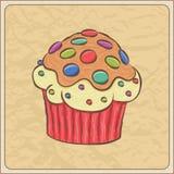 Cupcake Card Stock Photos
