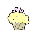 Cupcake cartoon Royalty Free Stock Image