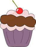 Cupcake cartoon Stock Photo