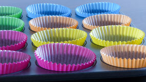 Cupcake cases Stock Image