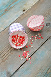 Cupcake cases Royalty Free Stock Image