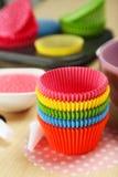 Cupcake cases Stock Photos