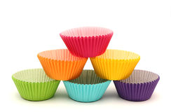 Cupcake Cases Stock Photography
