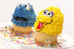 Cupcake characters Royalty Free Stock Photo
