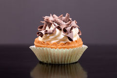 Cupcake With Chocolate Chips Royalty Free Stock Photography