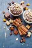 Cupcake cinnamon Stock Photo