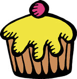 Cupcake Clip Art Stock Images