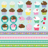 Cupcake clipart Stock Image