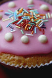 Cupcake closeup Royalty Free Stock Photos