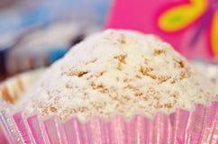 Cupcake Closeup Royalty Free Stock Photos