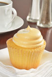 Cupcake and coffee Royalty Free Stock Images