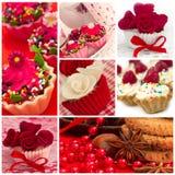Cupcake collage Royalty Free Stock Image