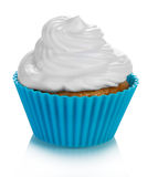 Cupcake with cream Stock Photography