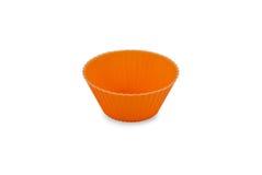 Cupcake cup orange Royalty Free Stock Photography