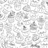 Cupcake, cupcakes muffin fairy patty cup cake cakes muffins past Stock Photography