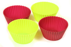 Cupcake cups Stock Photos