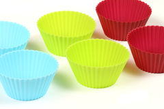 Cupcake cups Royalty Free Stock Images