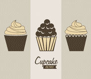 Cupcake delicious Royalty Free Stock Images