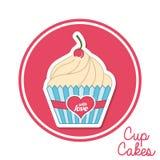 Cupcake design Royalty Free Stock Photo
