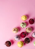 Cupcake. Dessert. Delicious cupcake on the table Stock Images