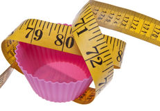 Cupcake Diet Royalty Free Stock Photos