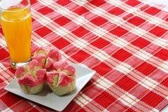 Cupcake dish Stock Images