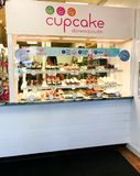 Cupcake Down South in Columbia, SC.  royalty free stock photos