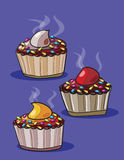 Cupcake Drawing Royalty Free Stock Photo